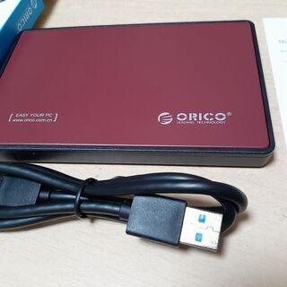 外付けハードディスク 640GB (ケース新品)⑥