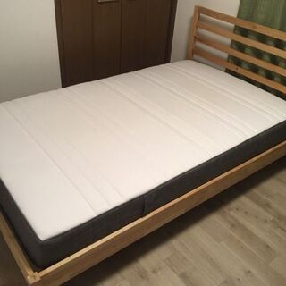 IKEA イケヤ ベッド セミダブル HÖVÅG ホーヴォーグ ...