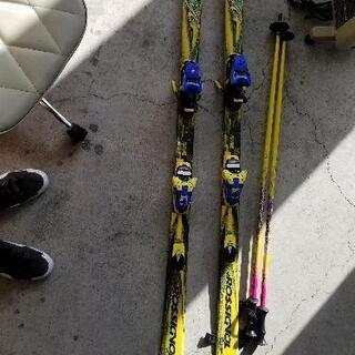 1015-083 スキー板 ケース付