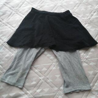 サイズ120 スカート付レギンス(膝あたりまでの長さ)