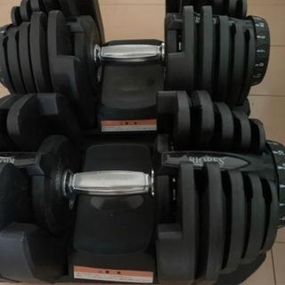 可変式ダンベル40kg ✖️2