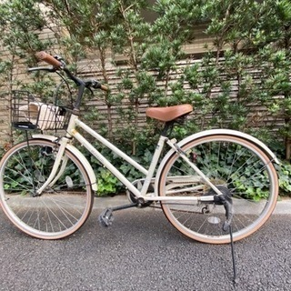 【ネット決済・配送可】26インチ自転車お譲りします(自宅近辺お引...