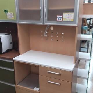 【✨おすすめ品✨】2面レンジボード 食器棚 コンパクトなサイズ感...