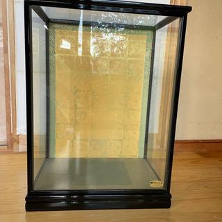 人形用のガラスケース