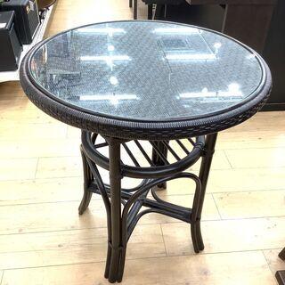 KAZAWA(カザワ)のシックでお洒落なラタンテーブルです!