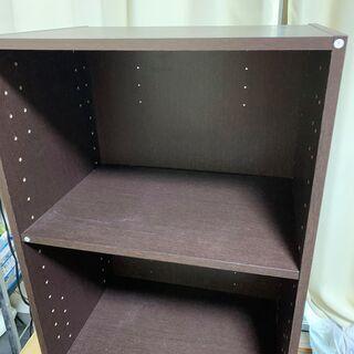 【無料】ニトリ カラーボックスワイド 2段