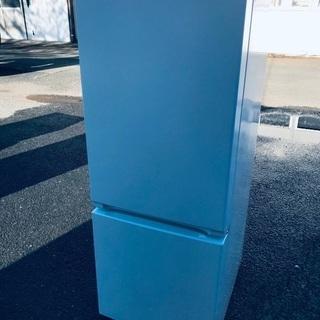 ♦️EJ1676番YAMADA ノンフロン冷凍冷蔵庫 【2019年製】