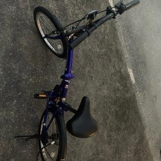 折り畳み自転車(男女兼用)