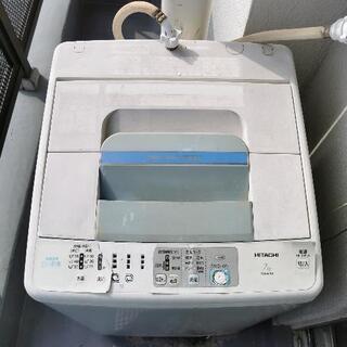 日立 全自動洗濯機 白い約束 NW-R701(ピュアホワイト) ...