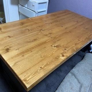 木目テーブル ※取引日指定有り