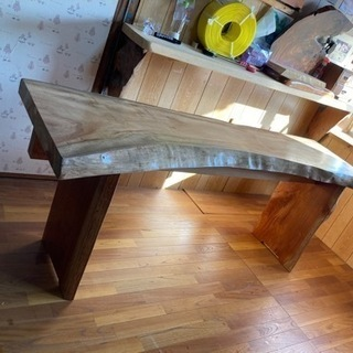楠木天板 両端仕様 190×65〜43板厚6.4前後