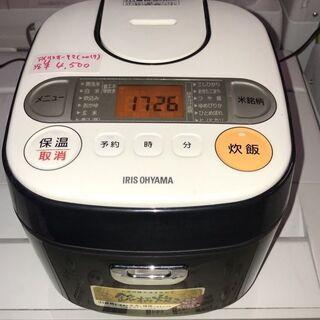 ☆中古 激安!!¥4,500!!アイリスオーヤマ 3合炊飯ジャー...