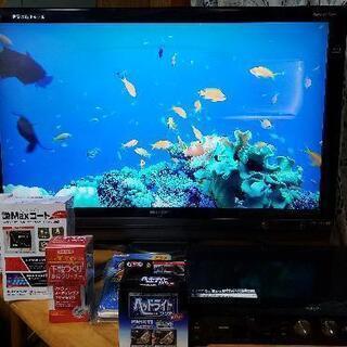 SHARP40型大画面液晶テレビ/シャープHDDプレイヤー…