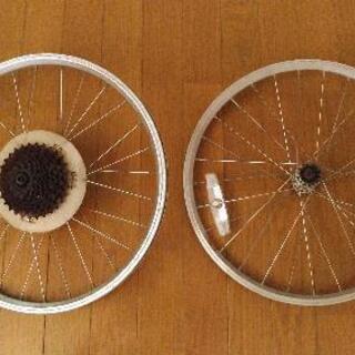 【売約済み】自転車 ホイール 20インチ ミニベロ ブルーノ