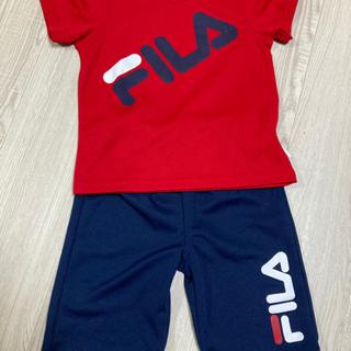 FILA 赤×紺 セットアップ❤️✨