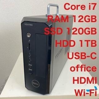DELL core i7 SSD + HDD 1TB