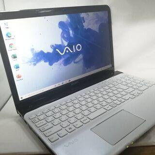 VAIO SVE151B11 美品白 WIN10 SSD Office