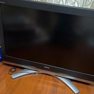 TOSHIBAテレビ42型。内部基盤新品交換済