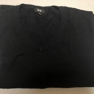 UNIQLO Vネックセーター 黒