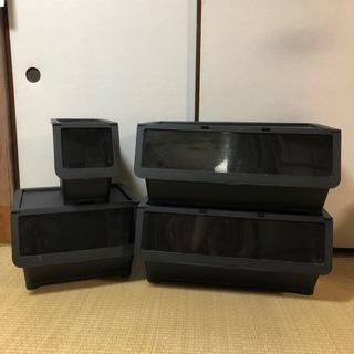 【10/20まで!】IKEA 衣装ケース 4つセット