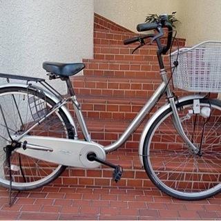 【整備済自転車】26インチ変速なし ライト、鍵新品、スペア…