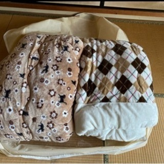 【ネット決済】フリース素材シングル掛け布団