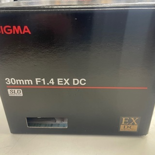 SIGMA レンズ 30mm F1.4 EX DC Aマウント