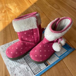 女児 15センチ 冬物 ブーツ