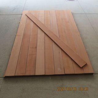 軽トラックの板張り荷台 トラックの荷台専用木材 「アピトン」 1...