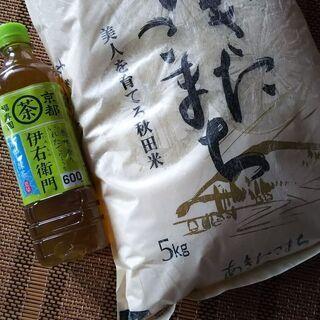 秋田県産あきたこまち5kg+オマケ