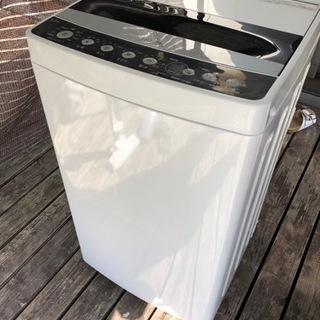 【中古】2019年製 ハイアール4.5キロ洗濯機