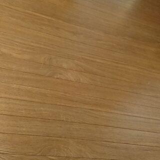 ウッドカーペット茶色
