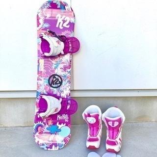 k2子供用スノーボードセット