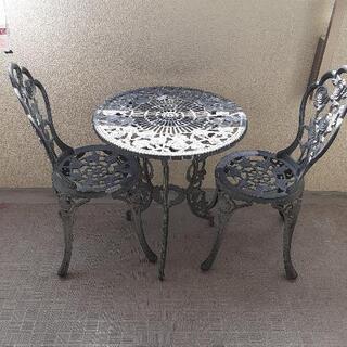 ガーデニングテーブル、チェアー