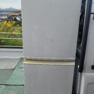 シャープ ノンフロン 137L 冷蔵庫