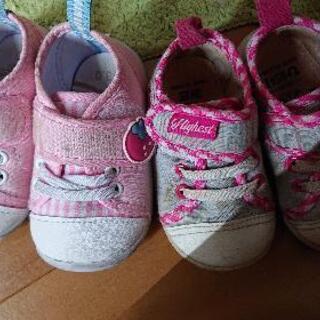 12.13センチ 女の子 ベビー靴