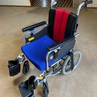 【ネット決済】【値下げ】車椅子※肉厚ジェルマット付