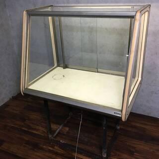 ⭕⭕⭕PH5/49 ガラスショーケース 鉄枠 W91×D60×H...