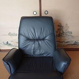 リクライニング機能付き回転座椅子