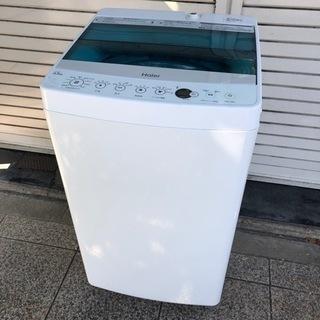 #5810 ハイアール 4.5kg 全自動洗濯機 JW-C…