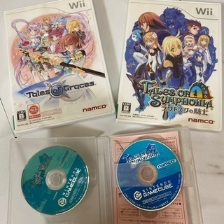 【ネット決済】Wii【テイルズオブグレイセス&テイルズオブラタト...