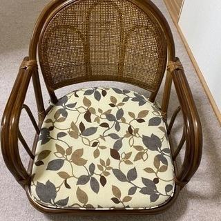藤の座椅子 無料で差し上げます