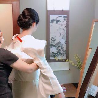 花嫁着付け、短期集中で着付け初心者から教えます。