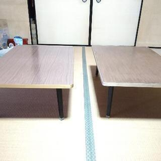折りたたみテーブル差し上げます。(2台目)