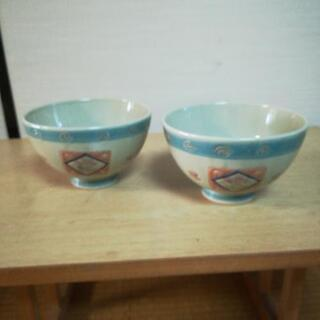 ご飯茶碗大 2個 未使用 無料で譲ります