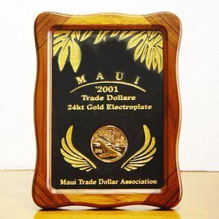 '2001 マウイコイン 24kgp ゴールドプレーティン…