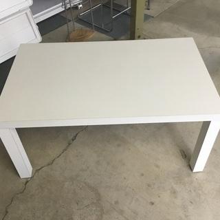 ローテーブル 木製 白