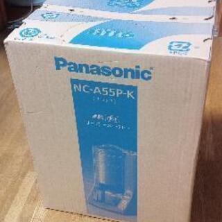 パナソニック コーヒーメーカー 容量5カップ ブラック NC-A55P