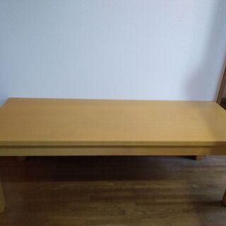 無印良品 ローテーブル 幅120mm(11月末まで)