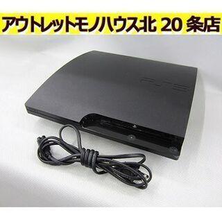 初期化済【PS3 160GB CECH-3000A】チャコールブ...